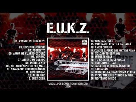 """EL ÚLTIMO KE ZIERRE """"Vivos por Domesticar"""" (Álbum Completo)"""