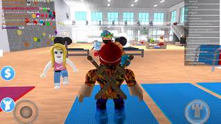 Roblox fitness center game