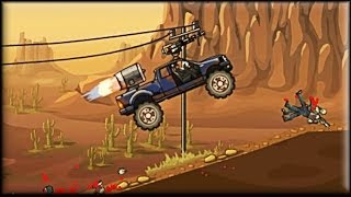 [vol.1] - Earn To Die - Game Walkthrough (all cars upgraded)