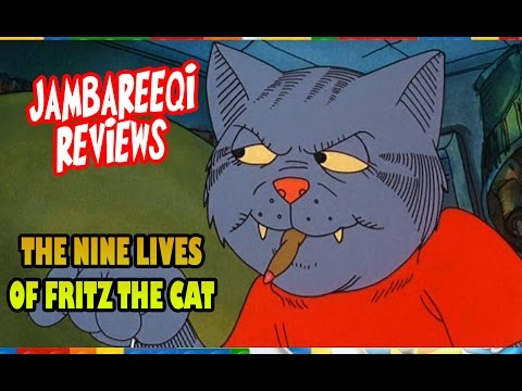 """Jambareeqi Reviews"" - The Nine lives of Fritz the cat"