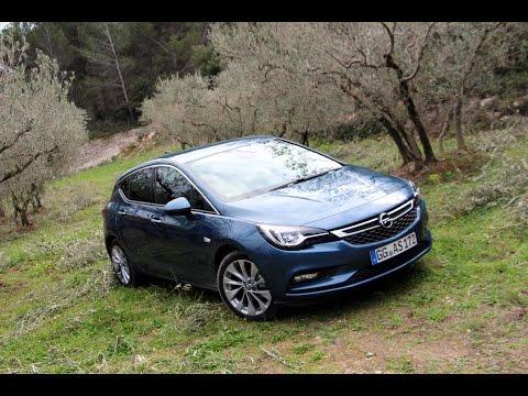 Essai Opel Astra (MY2016)