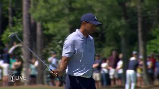 Tiger Woods nearly jars approach at THE PLAYERS 2019