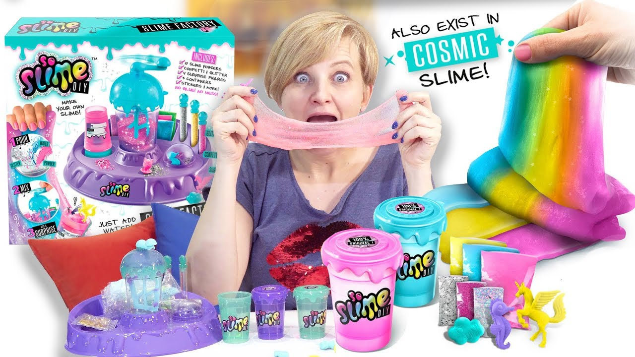 SO SLIME DIY, Canal Toys – testujemy