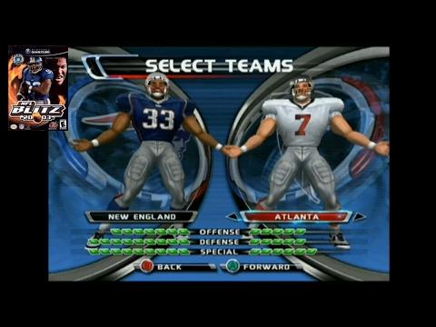GC NFL Blitz 2003 - Super Bowl LI: New England Patriots vs Atlanta Falcons
