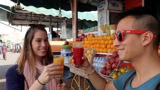 Morocco E.02 - Marrakech (Part I) - Our Favorite Juice Guy