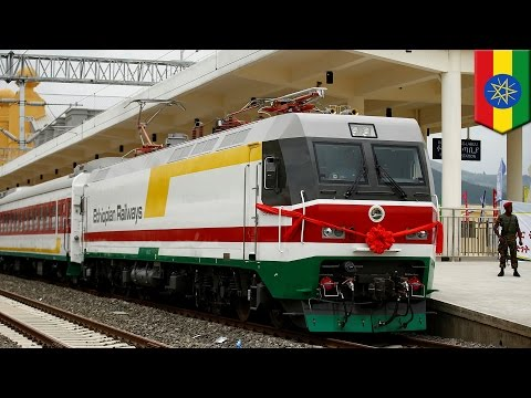 Chinese-built Ethiopia-Djibouti railway opens, shortens 7-day drive time to 10 hours - TomoNews