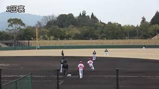 山崎福也 2019年3月2日、ウエスタン教育リーグ 広島東洋カープ戦に先発...