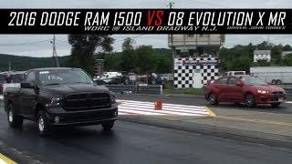 Evolution X MR vs 2016 Dodge Ram 1500