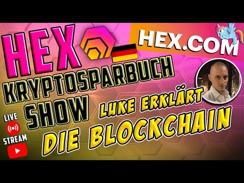 HEX Die Kryptosparbuch Show – die WICHTIGSTEN INFOS zur BLOCKCHAIN