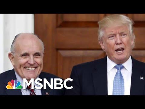 Frank Figuliuzzi: Rudy Giuliani Just Threw Trump Under The Bus | The 11th Hour | MSNBC