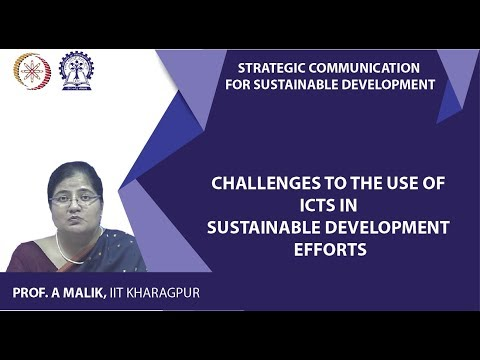 Challenges To The Use Of ICTs In Sustainable Development Efforts