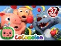 Apples and Bananas 2 + More Nursery Rhymes & Kids Songs - CoComelon