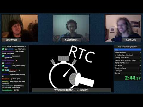 Real time chatting podcast