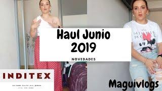 Haul Junio Stradivarius novedades // Maguivlogs// try on haul