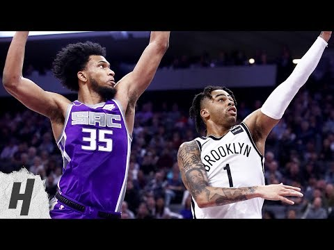Brooklyn Nets vs Sacramento Kings - Full Game Highlights | March 18, 2019 | 2018-19 NBA Season