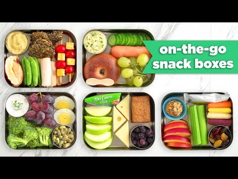 Healthy Bento Snack Boxes For On-The-Go! - Mind Over Munch