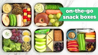 Summer Bento Snack Boxes for On-The-Go! - Mind Over Munch