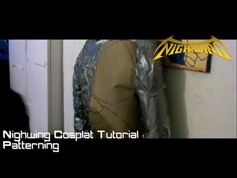 Nightwing Cosplay Tutorial : Patterning
