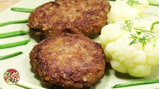 Котлеты домашние говяжьи. Beef cutlets