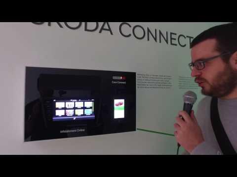 Genfi Autószalon 2017: A ŠKODA mobilalkalmazása és infotainment rendszere