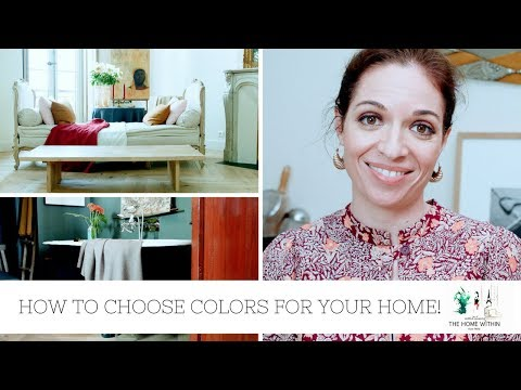 HOW TO CHOOSE COLORS FOR YOUR HOME