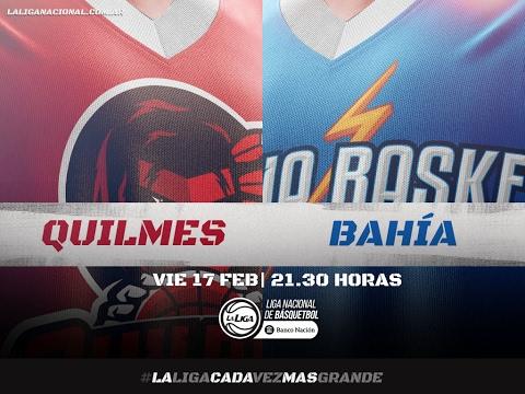 Liga Nacional: Quilmes vs. Bahía Basket | #LaLigaEnTyC