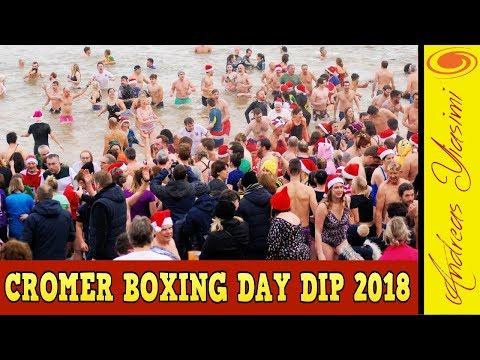 Cromer Boxing Day Dip 2018