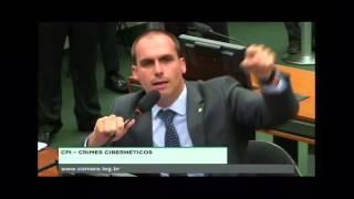 EDUARDO BOLSONARO DEFENDE LIBERDADE DE EXPRESSÃO DO MBL