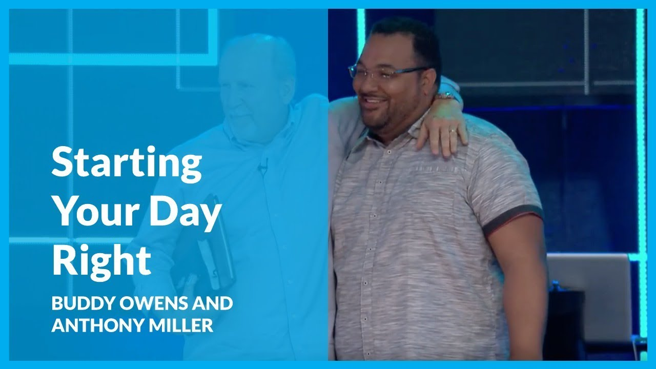 Learn How To Start Your Day Right With A Quiet Time with Buddy Owens and Anthony Miller