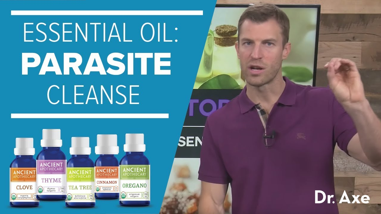 Parasite Cleanse: The Best Essential Oils