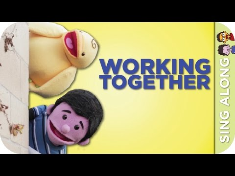 WORKING TOGETHER Sing Along | The FuZees