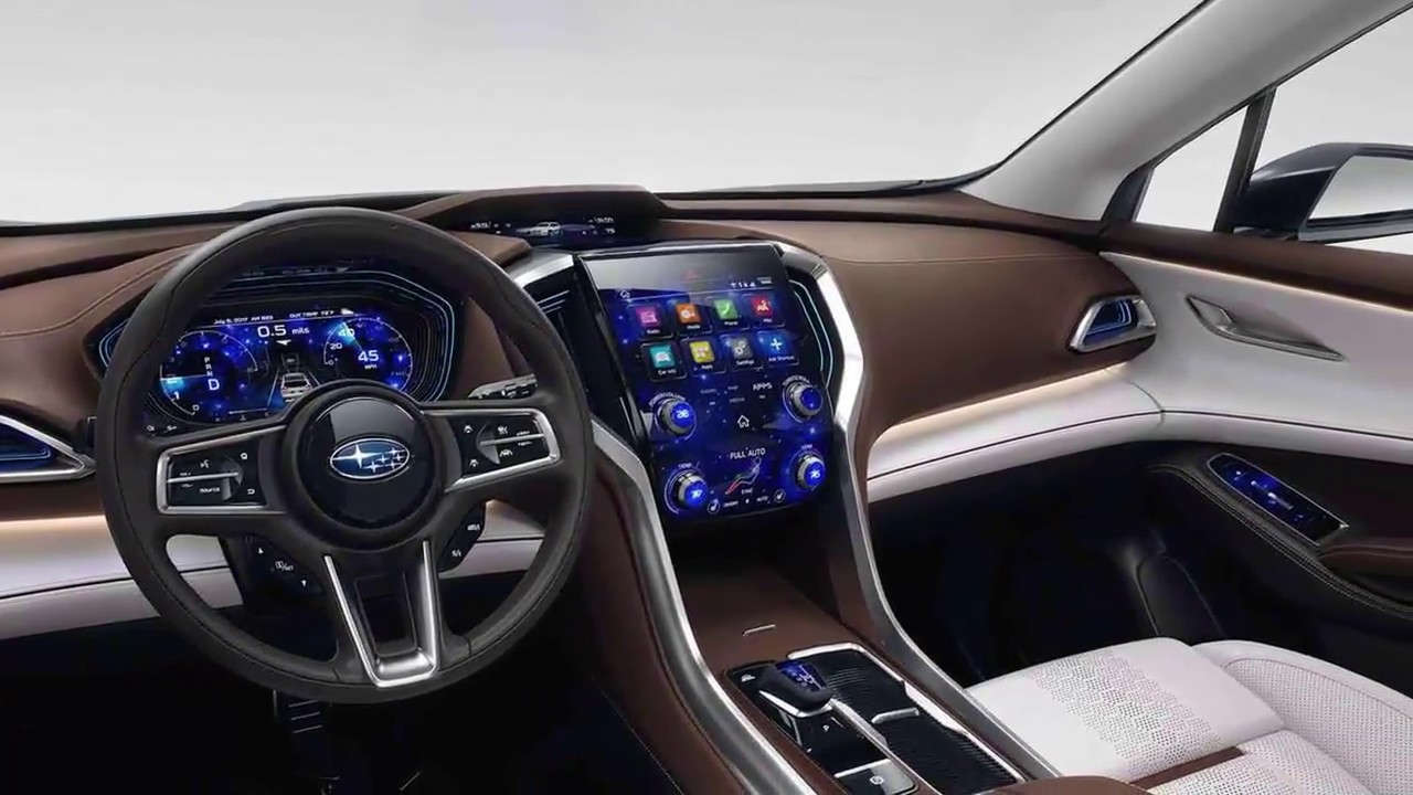 2019 Subaru ASCENT SUV Concept Interior - YouTube