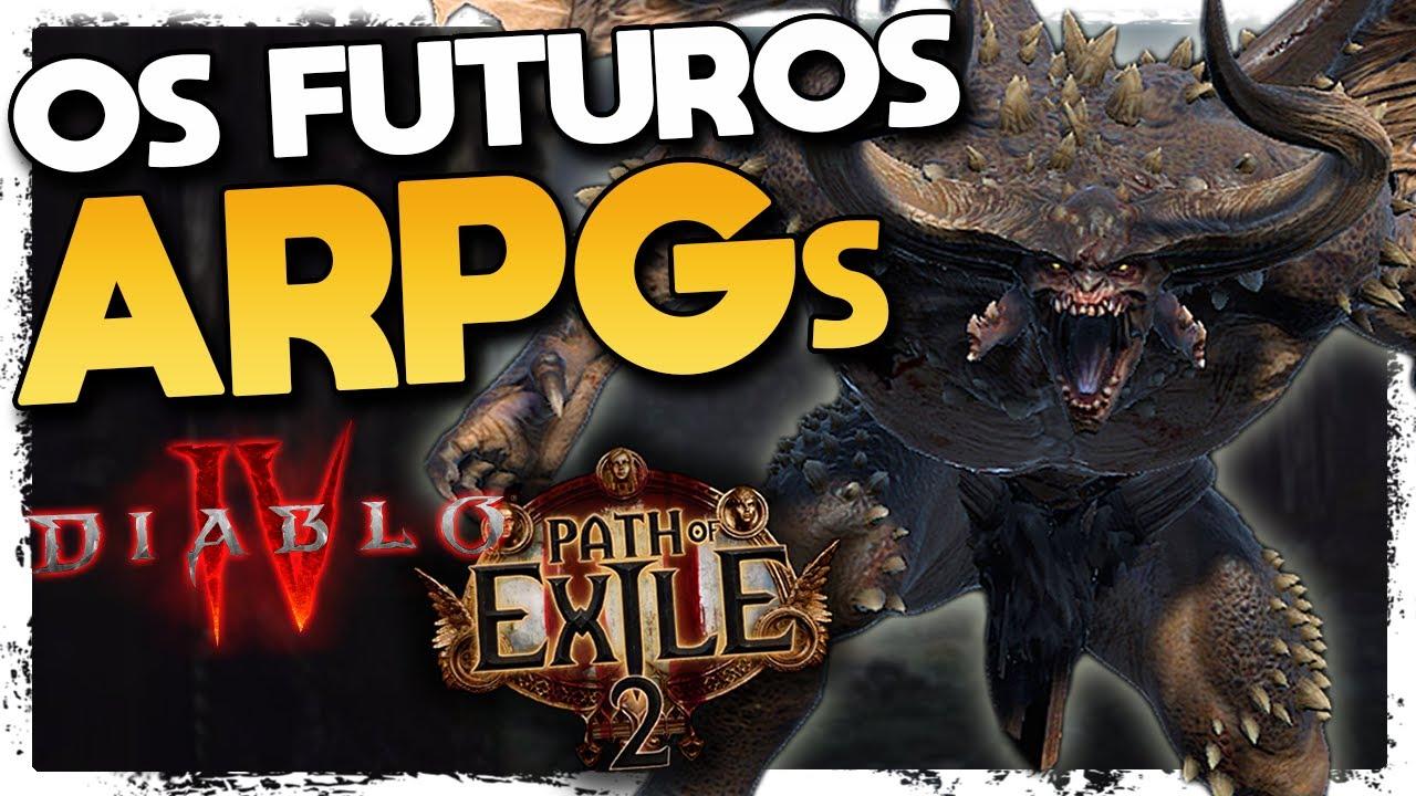 Diablo 4 e Path of Exile 2! O FUTURO dos ARPGs! O Que Sabemos até Agora e as Últimas Novidades