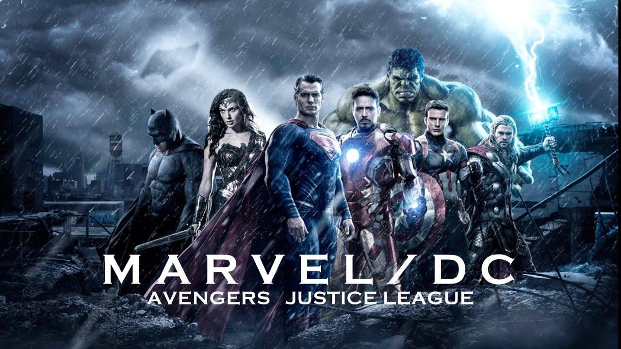 復仇者聯盟3 Image: Marvel/DC Tribute (Avengers/Justice League)