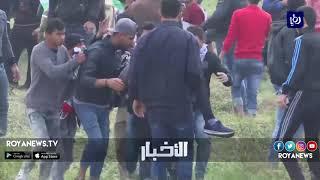 قمع مسيرات العودة يجدد المطالبة بتحقيق أممي في جرائم الاحتلال - (21-4-2018)