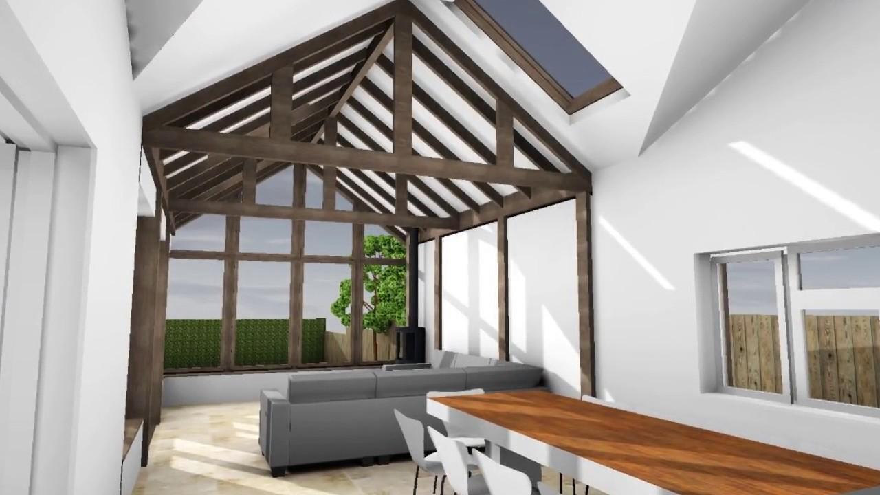 Garden Room Extension Designs Ideas - YouTube