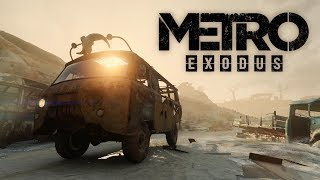 METRO EXODUS ☢️ [LIVE] #04 Roadtrip durch die Wüste [Cam] German / Deutsch