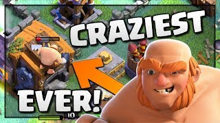 CRAZIEST GIANT EVER! Clash of Clans Funny Replay - Builder Base Mayhem! CoC BH6 Attacks and Strategy