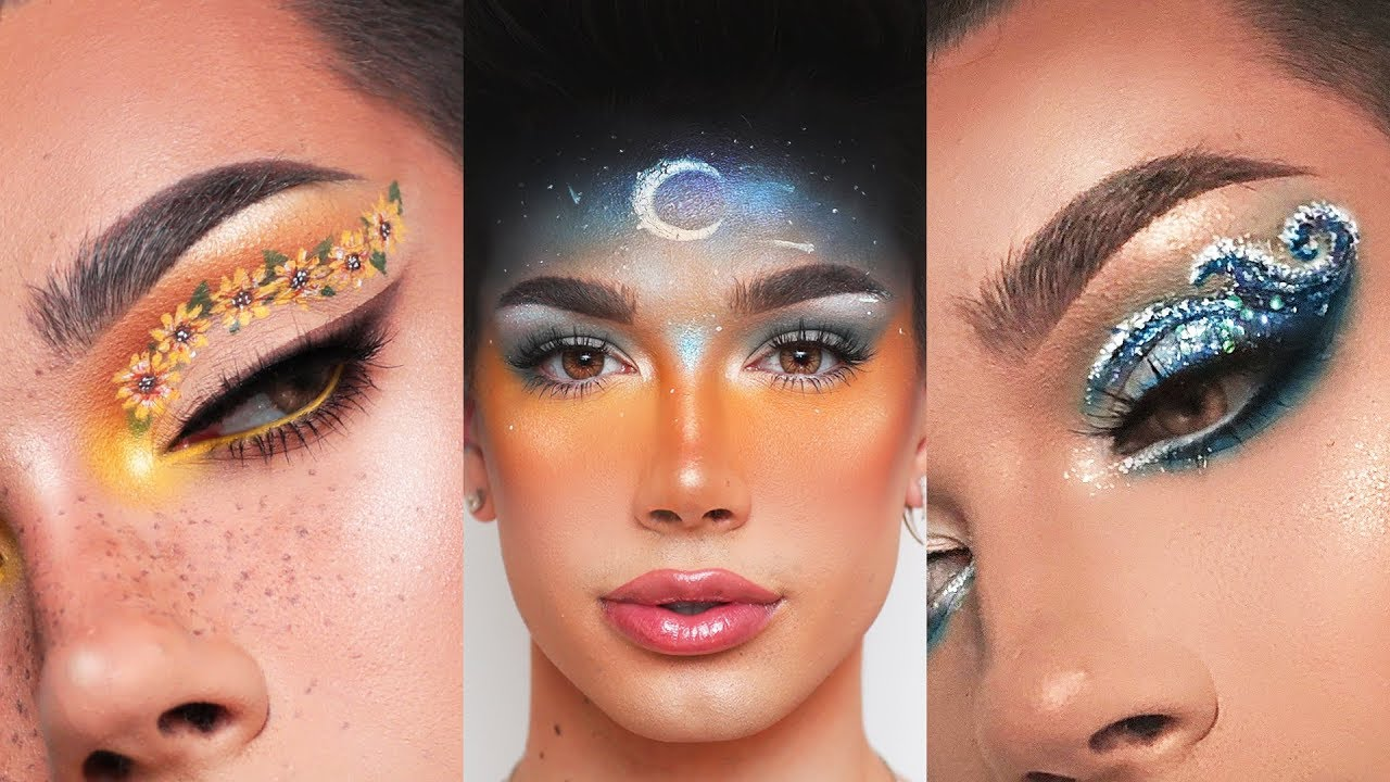 Recreating my follower   makeup looks james charles also youtube rh