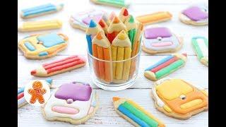 Пряники Печенье Сладкие Подарки на 1 Сентября ✧ Роспись пряников