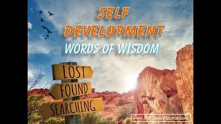 Self Development Words of Wisdom