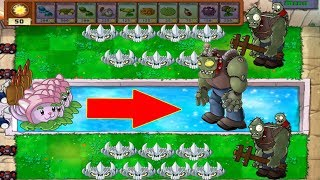 Plants vs Zombies - 999 Cattail vs 1 Dr. Zomboss