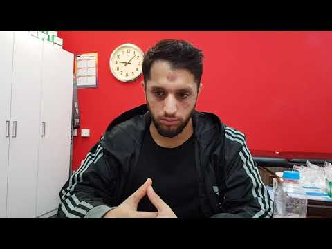 Eczema around Eyes and Neck, Head and Back Pain Cure by Hijama at Dr Naim's Clinic