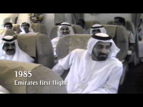 First Emirates Flight | Milestone series - 1985 | Emirates Airline