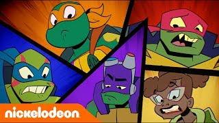 Эволюция Черепашек-ниндзя | Новые мутанты, новое оружие | Nickelodeon Россия