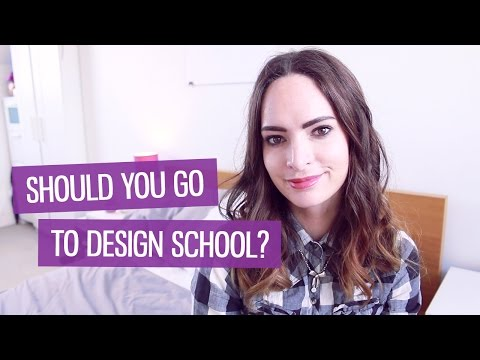 Should you go to university to study design? | CharliMarieTV