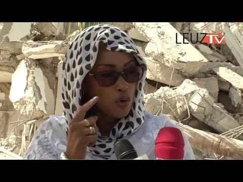 Entretien exclusif avec Maimouna Bousso sur la démolition de son domicile