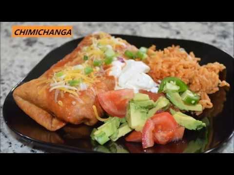 VEGETARIAN CHIMICHANGA By Cooking with Mitisha