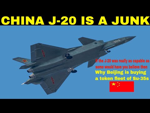 china's  j -20 is a junk