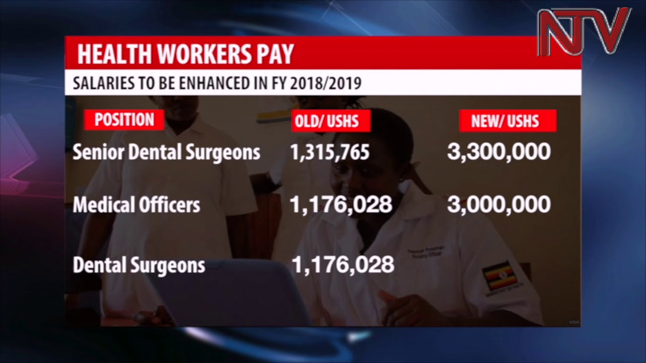 Health Ministry unveils new pay structure for Medical workers